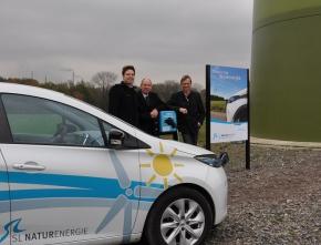 Erneuerbare machen E-mobil in Bottrop: Neue Ladesäule von SL NaturEnergie eröffnet