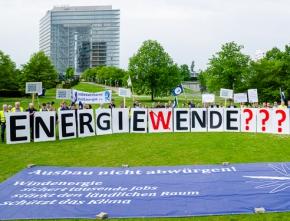 NRW-Unternehmen protestieren gegen Ausbremsen der Energiewende