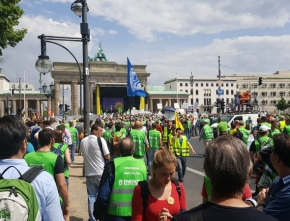 """Energiewende Retten!"" Demonstration in Berlin"