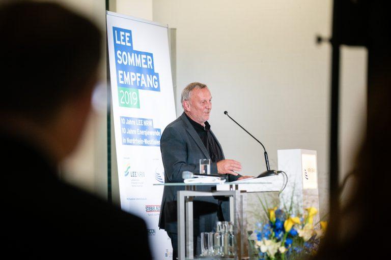 Reiner Priggen beim Sommerempfang des LEE NRW