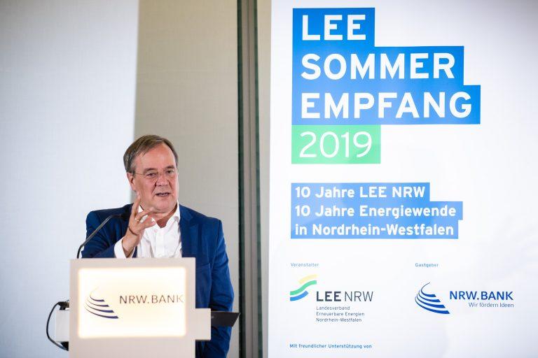 Armin Laschet beim Landesverband Erneuerbare Energien NRW