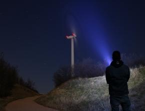 Windenergie: Verband macht den Nachthimmel wieder dunkel
