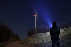 bedarsgesteuerte Nachtkennzeichnung Windenergie